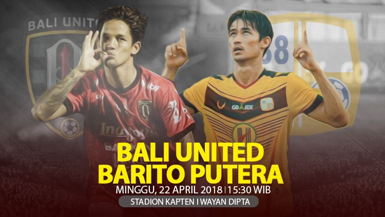 Prediksi Bali United vs Barito Putera. Copyright: © INDOSPORT