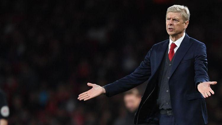 Arsene Wenger resmi mundur jadi pelatih Arsenal di akhir musim ini. Copyright: © Getty Images