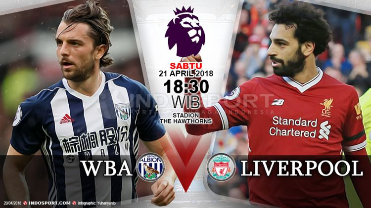 Xem trực tiếp West Brom vs Liverpool ở đâu?