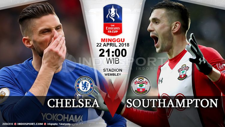Prediksi Chelsea vs Southampton Copyright: © Grafis:Yanto/Indosport.com