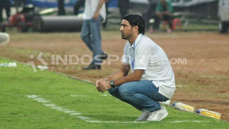 Alberto Annese, Pelatih PSIS Semarang. Copyright: © Prima Pribadi/INDOSPORT