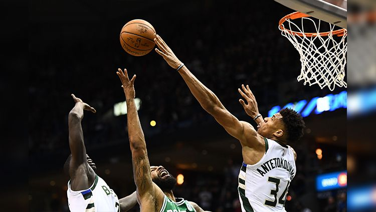 Boston Celtics vs Milwaukee Bucks. Copyright: © Getty Image