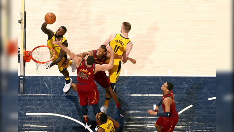 Cleveland Cavaliers vs Indiana Pacers. Copyright: © Getty Image