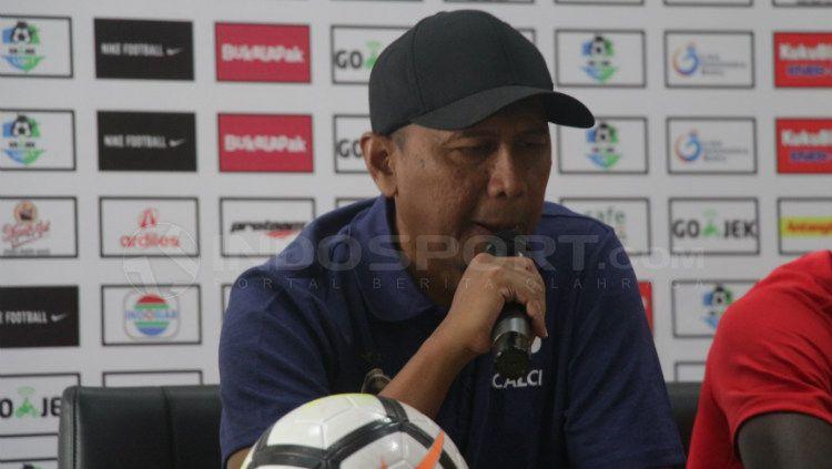 Pelatih SFC, Rahmad Darmawan Copyright: © Fitra Herdian/INDOSPORT