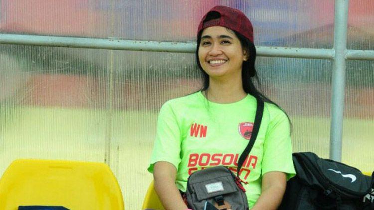 Andi Widya Syadzwina, Media Officer PSM Makassar. Copyright: © Istimewa