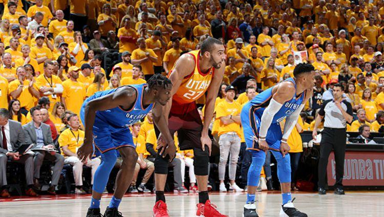 Oklahoma City Thunder vs Utah Jazz. Copyright: © Getty Image
