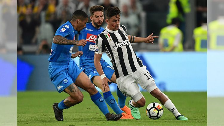 Juventus vs Napoli Copyright: © Getty Images