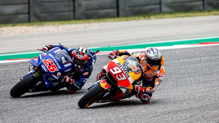 Vinales (kanan) Marquez (kanan) Copyright: © Getty Images