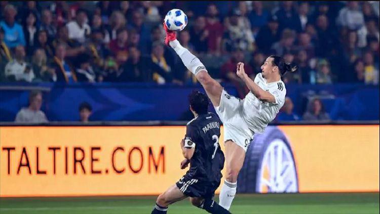 Zlatan Ibrahimovic. Copyright: © INDOSPORT