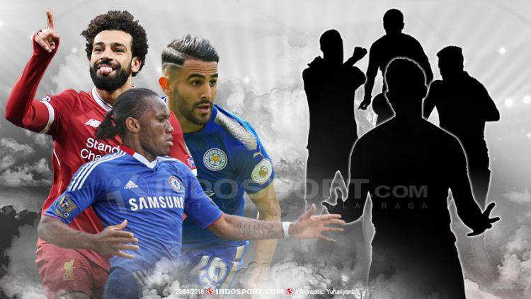 7 Pemain Terbaik Afrika Sepanjang Sejarah Liga Primer Inggris. Copyright: © Grafis:Yanto/Indosport.com