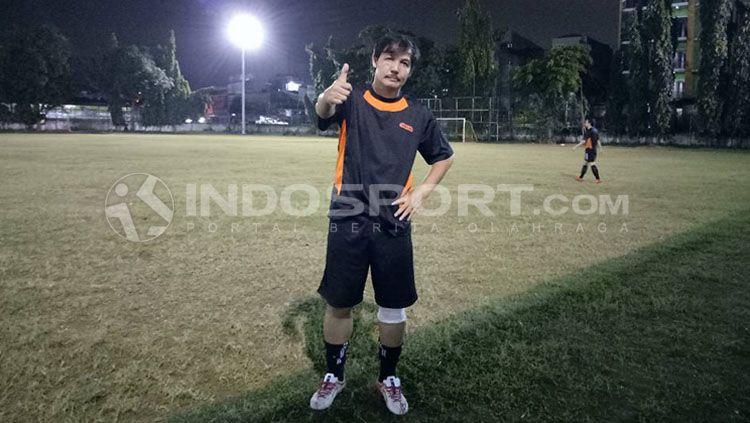 Ricky Yacobi, mantan pemain Timnas Indonesia. Copyright: © Yohanes Ishak/INDOSPORT
