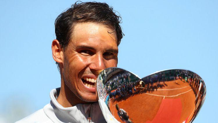 Rafael Nadal memenangi Monte-Carlo Masters 2018. Copyright: © Getty Image