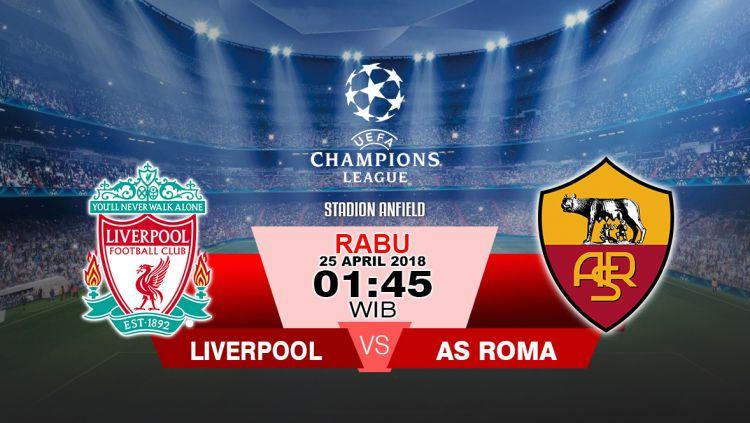 Liverpool vs AS Roma Copyright: © Grafis:Yanto/Indosport.com