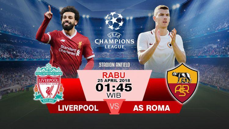Liverpool vs AS Roma. Copyright: © Grafis:Yanto/Indosport.com