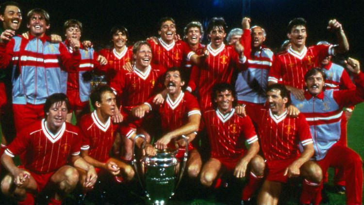 Liverpool menjuarai kompetisi Liga Champions 1984. Copyright: © Internet