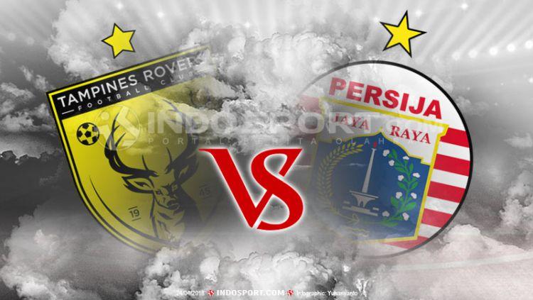 Tampines Rovers vs Persija Jakarta Copyright: © Grafis:Yanto/Indosport.com