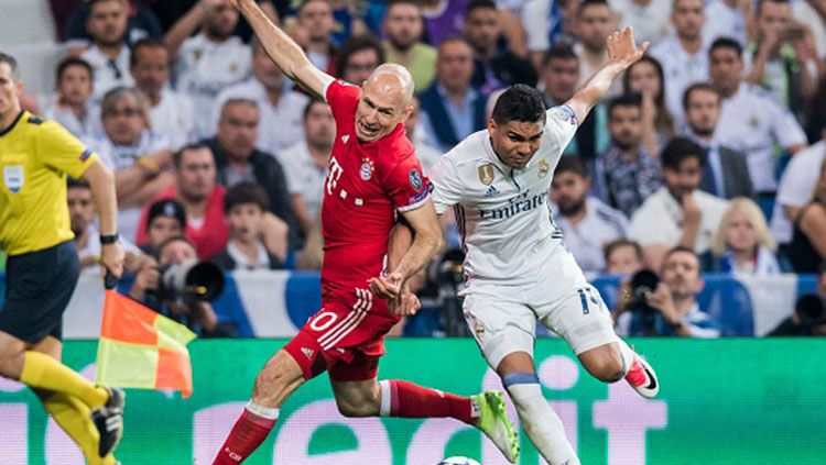 Real Madrid vs Bayern Munchen. Copyright: © Getty Image