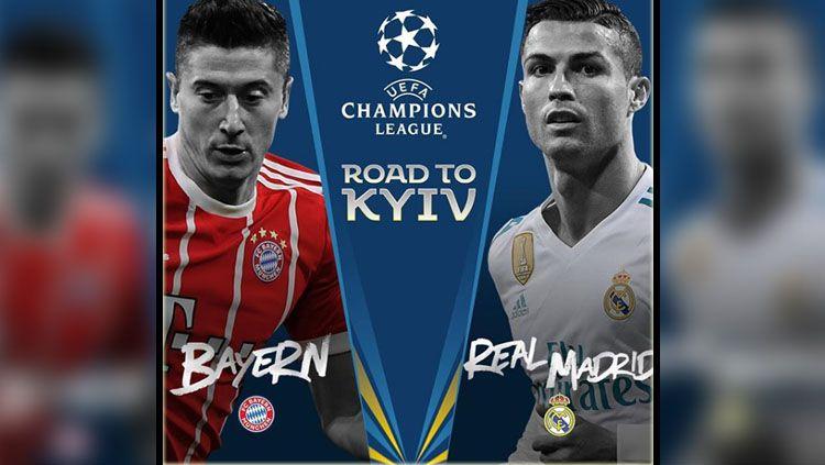 Bayern Munchen vs Real Madrid. Copyright: © INSTAGRAM Liga Champions
