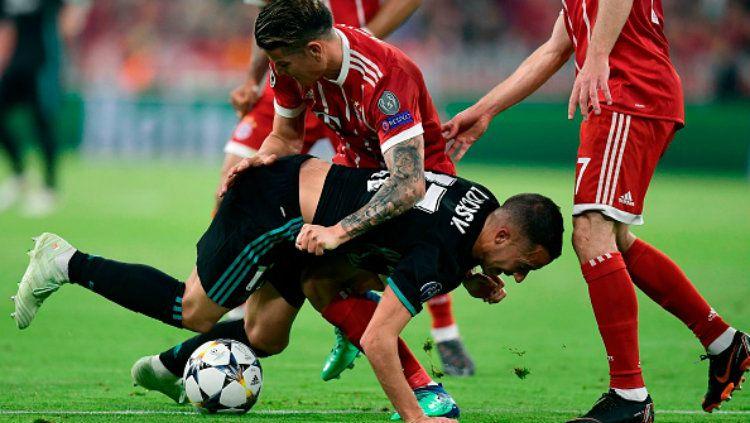 Bayern Munchen vs Real Madrid. Copyright: © INDOSPORT