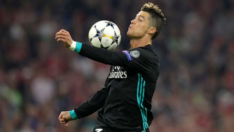 Cristiano Ronaldo di laga vs Bayern Munchen. Copyright: © INDOSPORT
