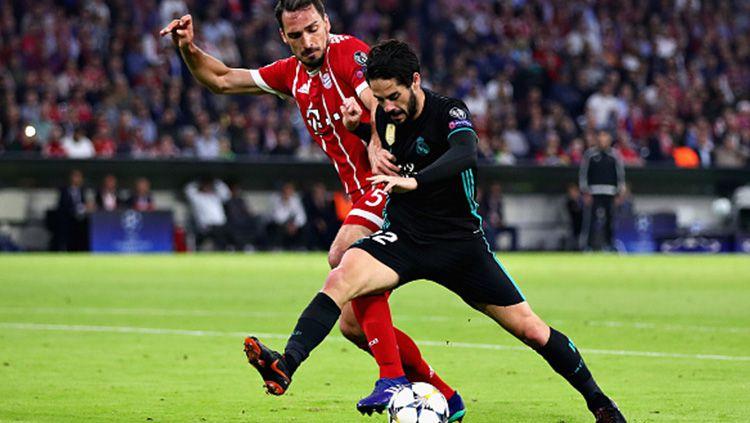 Isco di laga melawan Bayern Munchen. Copyright: © Getty Images
