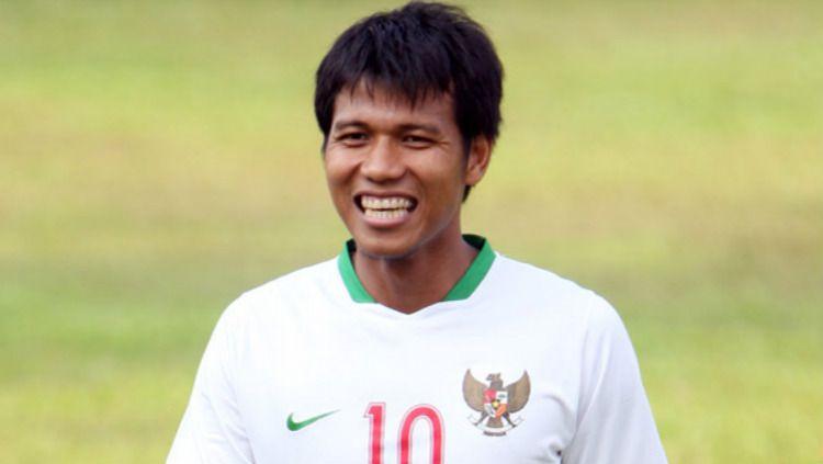 Saktiawan Sinaga dengan jersey Timnas Indonesia Copyright: © Internet