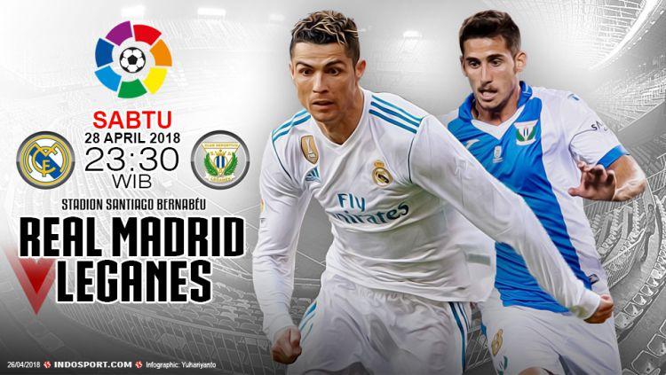 Prediksi Real Madrid vs Leganes Copyright: © Grafis:Yanto/Indosport.com