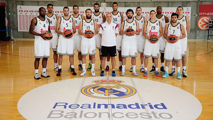 Tim basket Real Madrid. Copyright: © Getty Images