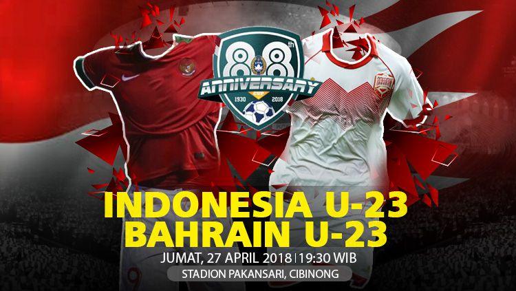 Indonesia vs Bahrain Copyright: © INDOSPORT.COM
