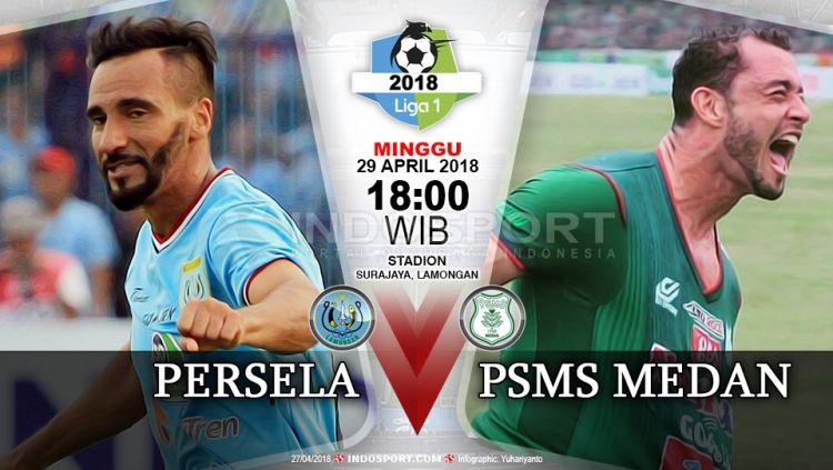 Prediksi Persela Lamongan vs PSMS Medan Copyright: © Grafis:Yanto/Indosport.com