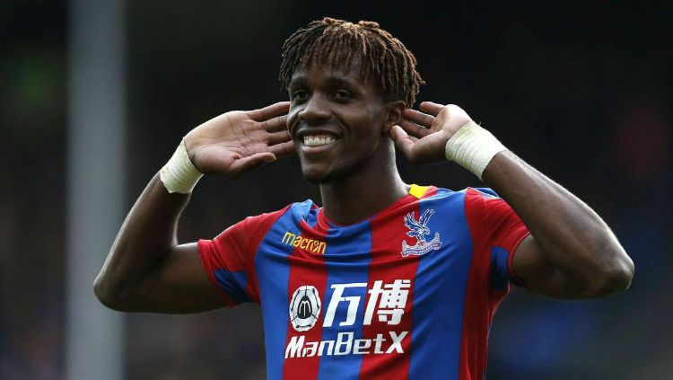 Penyerang Crystal Palace, Wilfried Zaha Copyright: © Internet