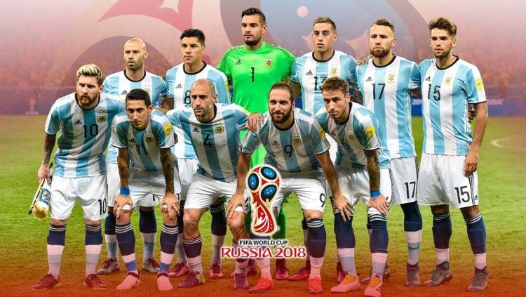 Skuat Timnas Argentina Piala Dunia 2018. Copyright: © INDOSPORT