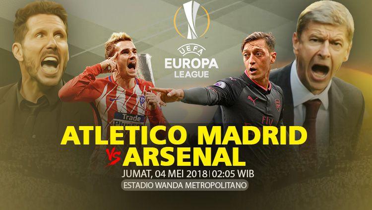Xem trực tiếp Atletico Madrid vs Arsenal lượt về BK Europa League ở đâu?