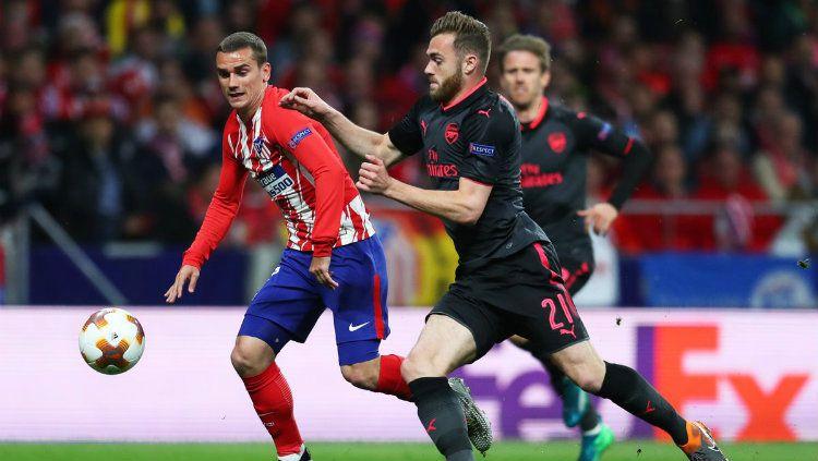 Atletico Madrid - Arsenal. Copyright: © twitter.com/arsenal