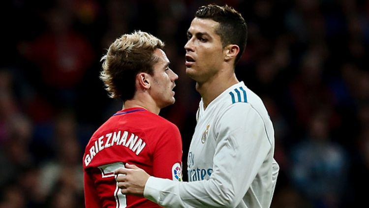 Cristiano Ronaldo dan Antoine Griezmann Copyright: © INDOSPORT