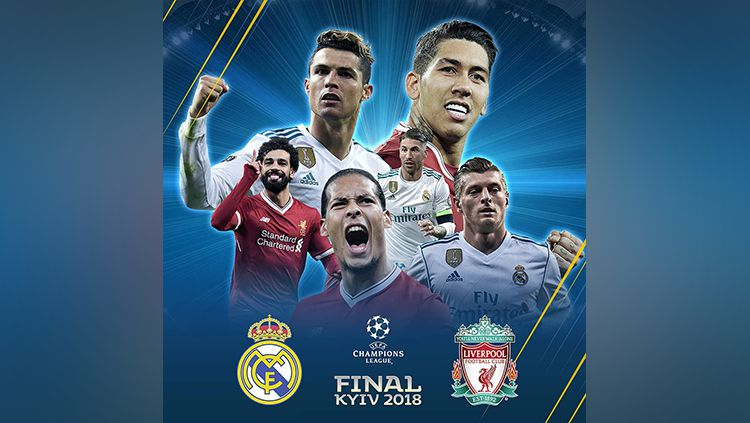 Real Madrid vs Liverpool. Copyright: © instagram.com/championsleague