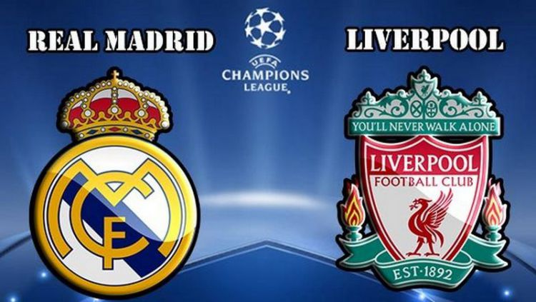 Real Madrid vs Liverpool. Copyright: © Istimewa