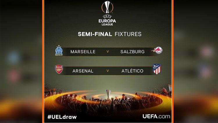 Semifinal Liga Europa. Copyright: © Instagram Liga Europa