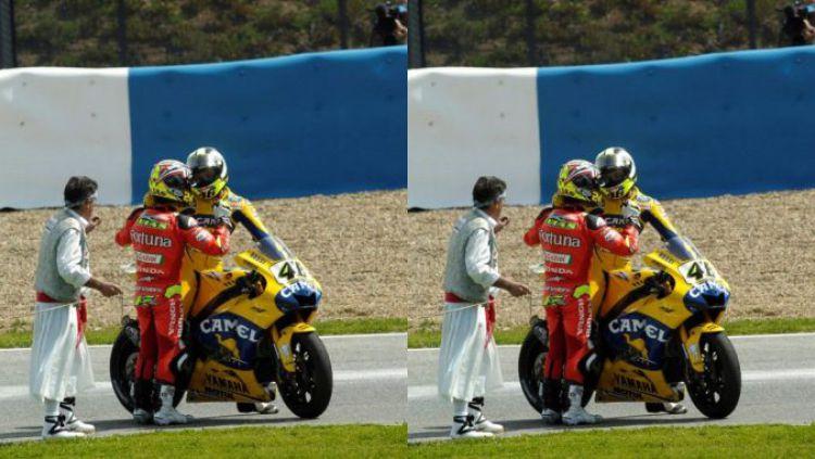 Valentino Rossi, pembalap MotoGP. Copyright: © INDOSPORT