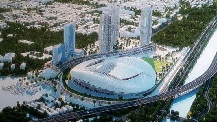 Desain baru Stadion BMW, yang bakal menjadi kandang Persija Jakarta. Copyright: © instagram @bmw_stadium