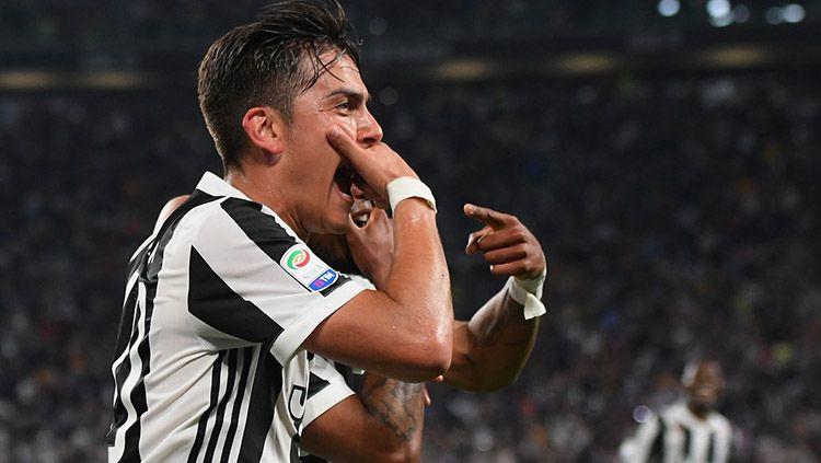 Selebrasi pemain Juventus. Copyright: © Twitter@juventusfcen