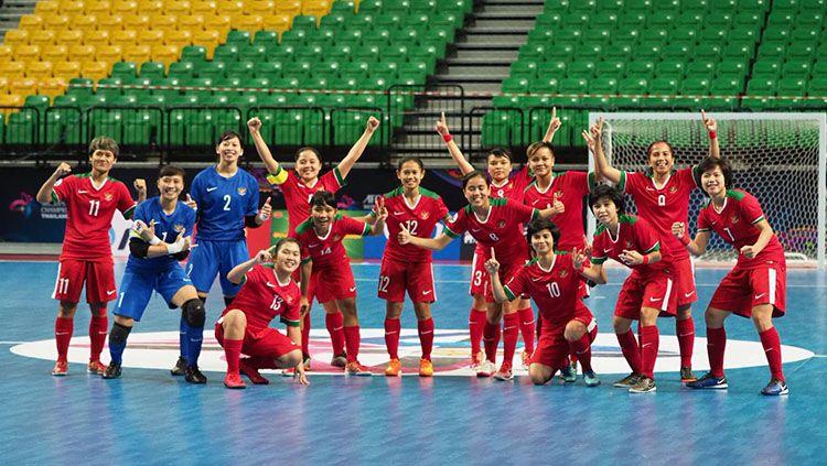 Timnas Futsal Wanita Indonesia Copyright: © istimewa/media ffi