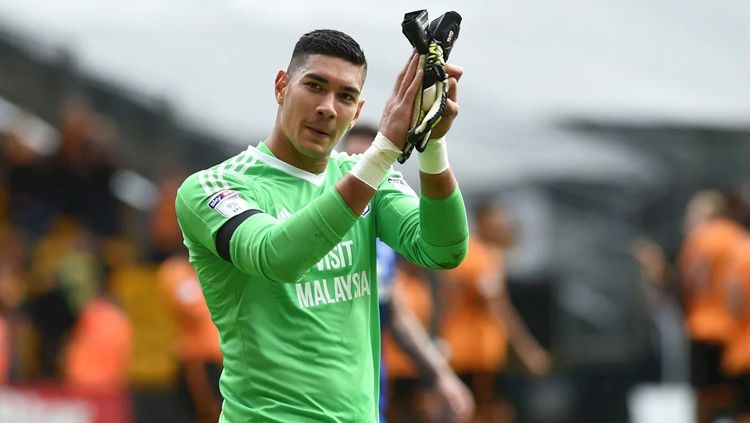 Neil Etheridge, kiper Timnas Filipina. Copyright: © INDOSPORT
