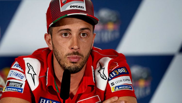 Andrea Dovizioso, pembalap Tim Ducati. Copyright: © INDOSPORT