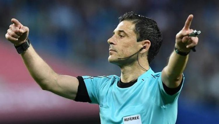 Milorad Mazic, wasit final Liga Champions Eropa 2017/18. Copyright: © INDOSPORT