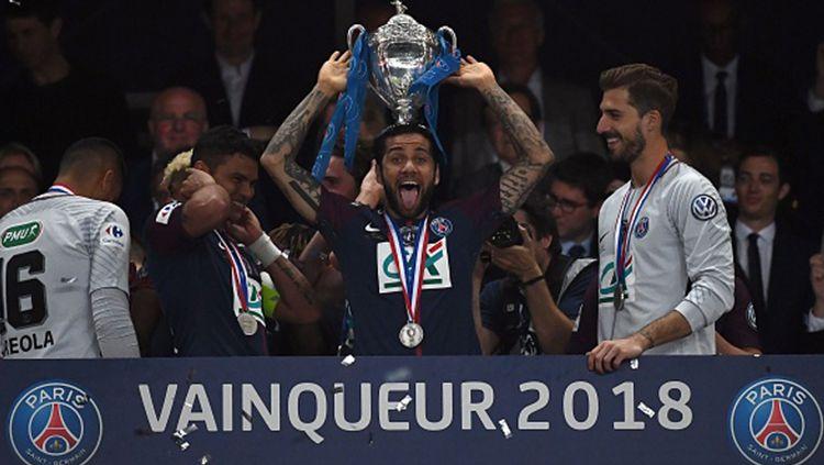 PSG juara Piala Prancis. Copyright: © INDOSPORT