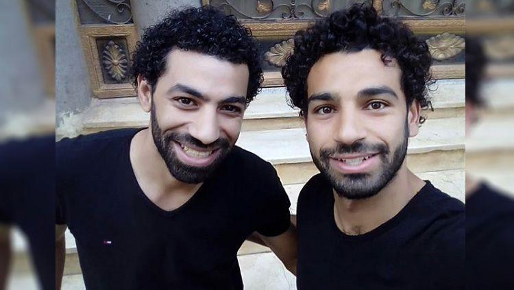 Ahmad Baha, Kembaran Moh Salah Copyright: © ahmadbahaa87@instagram