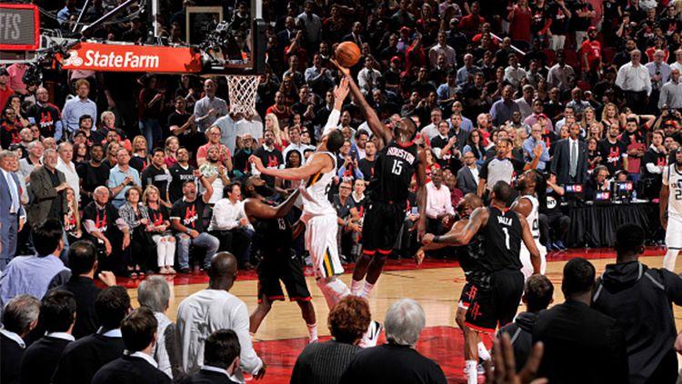 Utah Jazz vs Houston Rockets Copyright: © Getty Images