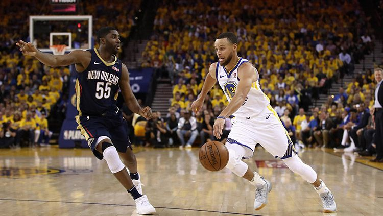New Orleans Pelicans vs Golden State Warriors Copyright: © Getty Images