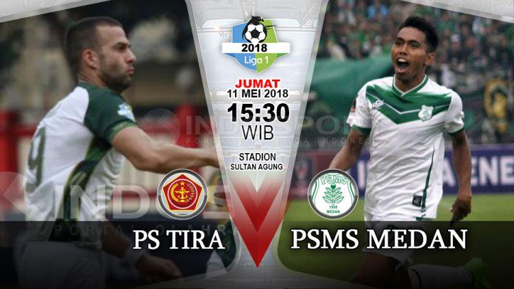 PS TIRA vs PSMS Medan. Copyright: © INDOSPORT